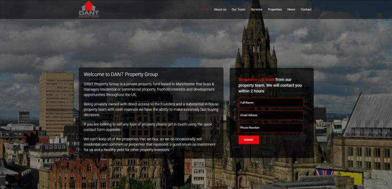 DANT Property Group Website